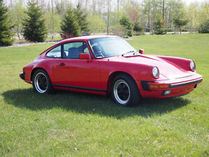 1984 Porsche 911 Carrera in Guards Red