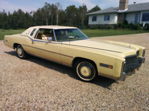FOR SALE: 1978 TRIPLE YELLOW ELDORADO BIARRITZ