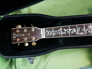 MARTIN D 45 CUSTOM ACOUSTIC ELECTRIC-copy-SOLD PPU
