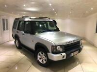 2003 LAND ROVER DISCOVERY 2.5 TD5 GS MANUAL 5 DOOR SILVER FACELIFT NEW SHAPE