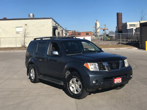 2005 Nissan Pathfinder Low Km, certified, 3/Y warranty available