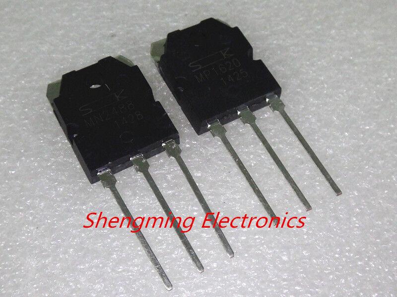 5pair MP1620 & MN2488 power Transistors 10pcs