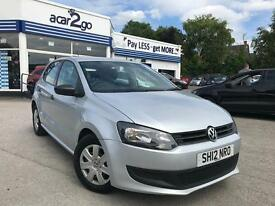 2012 Volkswagen POLO S A/C Manual Hatchback
