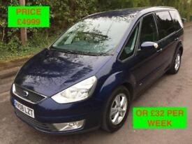 2008 FORD GALAXY 2.0 TDCI 6G / PX WELOCME / WE DELIVER