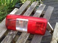Rear light unit