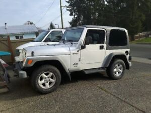 2005 Jeep TJ Sport Coupe (2 door)