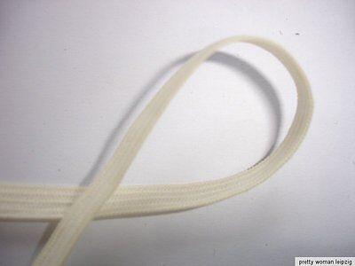 10m Gummiband 0,20€/m hellgelb 5mm breit Webgummi ED68