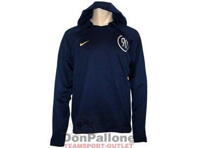 Nike Total 90 Kapuzen Sweatshirt dunkelblau Hoody Fußball Training Top Gr.S - XL ()