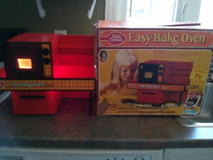 Vintage 1973 Kenner General Mills Working  Orange Easy Bake Oven