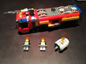 LEGO City 60061 Airport Fire Truck 100% Complete