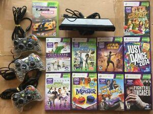 Kinect, Forza, Tennis, Star Wars, Skyrim, Manettes.. voir prix