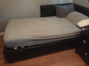 Couch and single kids bed for sale