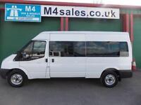 Ford Transit 350 14 Seat Minibus, Tacho, Aircon, 3.5t GVW
