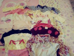 Baby girl clothes 40$
