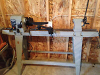 WOOD LATHE & ROCKWELL JOINTER PLANNER