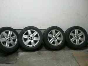 Winter  Tires And Mags 275/50R19