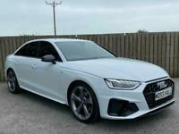 2020 20 Audi A4 2.0 TFSI 35 Black Edition S Tronic (s/s) 4dr White