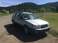 2003 Subaru Forester Wagon - LOW KM, Great Condition!- $6995 OBO