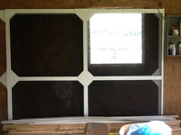 16 ft Garage screen door