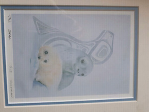 """SUE COLEMAN """"THE SEAL """"  Lithograph Print"""