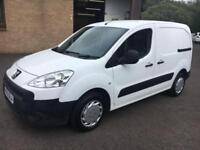2012 Peugeot Partner 1.6HDi ( 90 ) L1 850 S White 5 Door 81894mls MOT April 2019