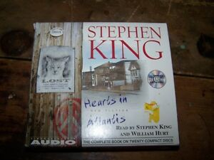 1999 Hearts in Atlantis by Stephen King Audio 20 CD Set