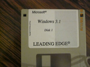 Windows 3.1 disks