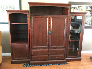 Buhler Entertainment Unit/Display Cabinet/Armoire REDUCED PRICE