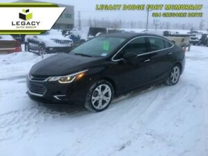 2017 CHEVROLET CRUZE PREMIER ONE OWNER NO ACCIDENTS!