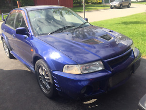 1999 Mitsubishi Evolution Evo 6 Sedan RHD