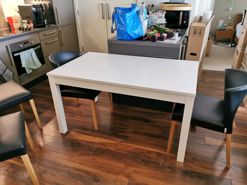 Prime Ikea Bjursta Extendable Dining Table White In London Gumtree Ocoug Best Dining Table And Chair Ideas Images Ocougorg