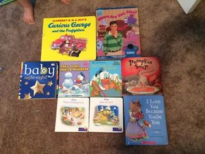Hard cover 9- baby book lot