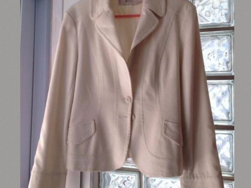 2nd Hand - G2000 G2k White OL Long Sleeve Blazer Jacket