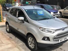 Ford EcoSport ecoboost turbo 1.0 petrol manual with 2000 miles only