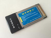 DYNEX Wireless G Notebook Card CardBus - WI-Fi - DX-WGNBC