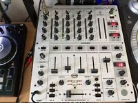 BEHRINGER PRO MIXER DJX700 5-Channel DJ Mixer with Multi-FX Processor, BPM Counter and VCA-Control