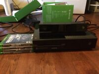Xbox One 250gb Hard Drive With Kinect and 4 Games
