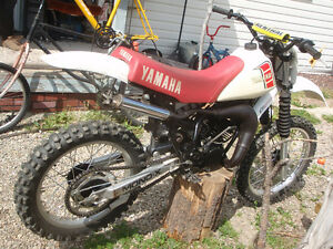 1981 yamaha yz 100/trade for street legal honda Prince George British Columbia image 7