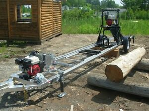 Beaver - Log lathes milling machine