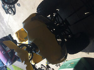 Fourwheeler more used for parts