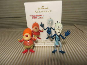 """HEAT MISER & SNOW MISER"" HALLMARK ORNAMENTS-RARE!!!"