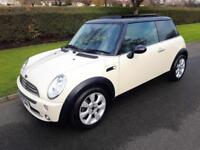 MINI COOPER 1.6 HATCH - 3 DOOR - 2006 - WHITE ** LOW MILES + LIMITED EDITION **