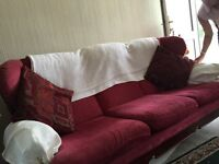 Cottage style threeseater and two seater and chair