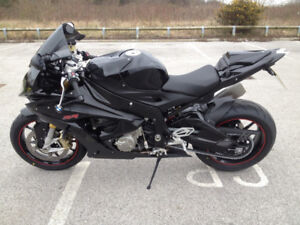 Wanted 2010-14 BMW S1000RR black body work, slip on or full pipe