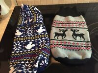 Small doggy sweaters