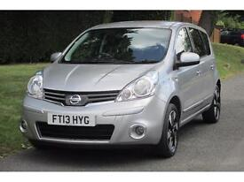 Nissan Note 1.4 16v 2012MY N-TEC + 5dr 27000 MILES