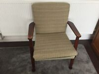 An Attractive Danish Style Parker Knoll Chair