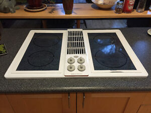 JENN-AIR Cooktop with Grill and Downdraft Option