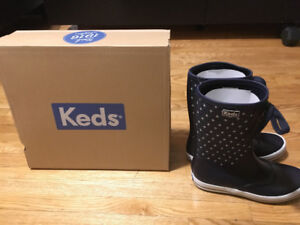 Keds-Womens-RAINDROP-SOLID-Boots