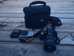 Nikon D5100  + Nikkor 18-55mm lens + Accessories! (1747 shutter)